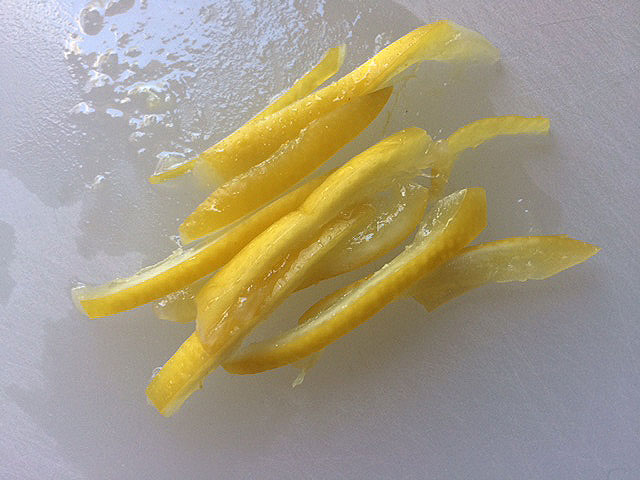 salt preserved lemon slices
